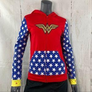 Wonder Woman zip up hoodie
